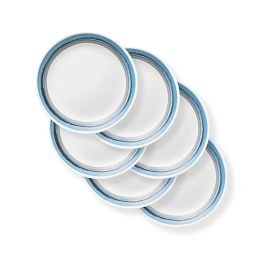 "Elemental Dawn 8.5"" Lunch Plate, 6-pack"
