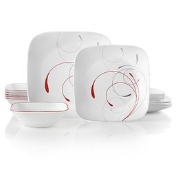 Splendor 18-pc Dinnerware Set Front View