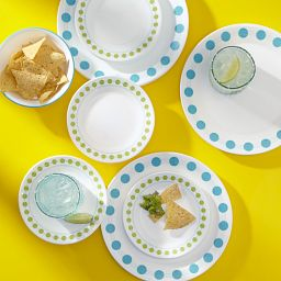 South Beach 18-pc Dinnerware Set on Table