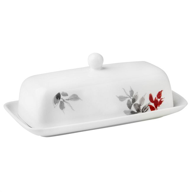 Kyoto Leaves Butter Dish