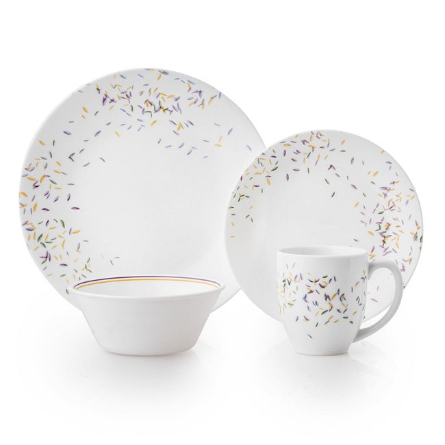 Autumn Dance 16-piece Dinnerware Set, Service for 4