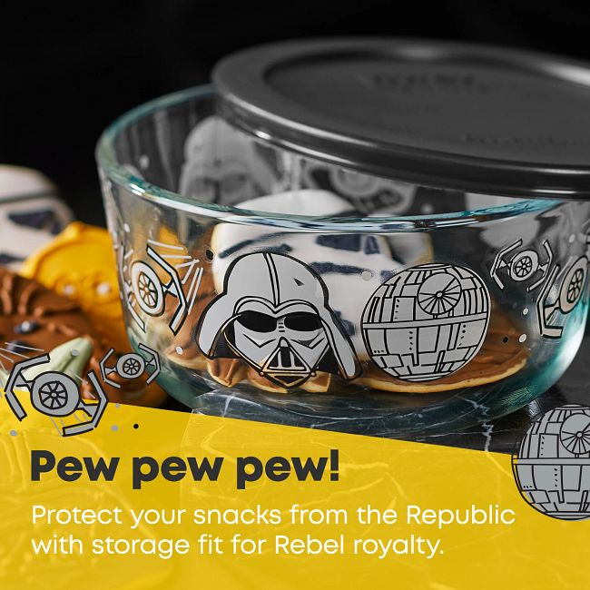 4-cup Decorated Storage: Star Wars™ - Darth Vader™