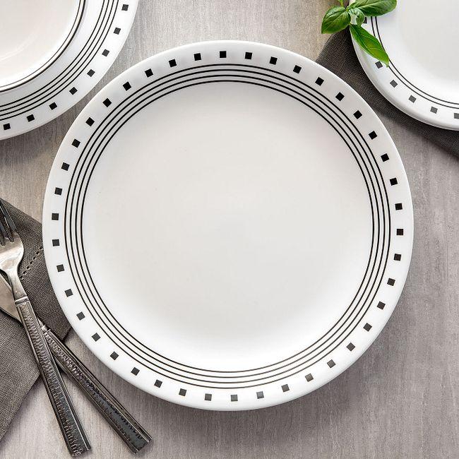 City Block 18-piece Dinnerware Set, Service for 6