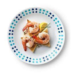 "Key West 10.25"" Dinner Plate on table"