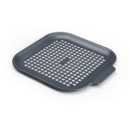 Instant Mini Nonstick Perforated Pizza Pan, Gray