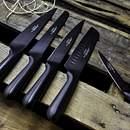 "Black Oxide 5"" Utility Knife"
