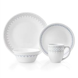 Corelle Evening Lattice 16-pc Dinnerware Set