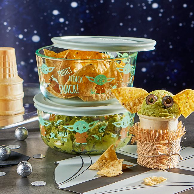 4-cup Decorated Storage 4-pc Set: Star Wars™, The Child