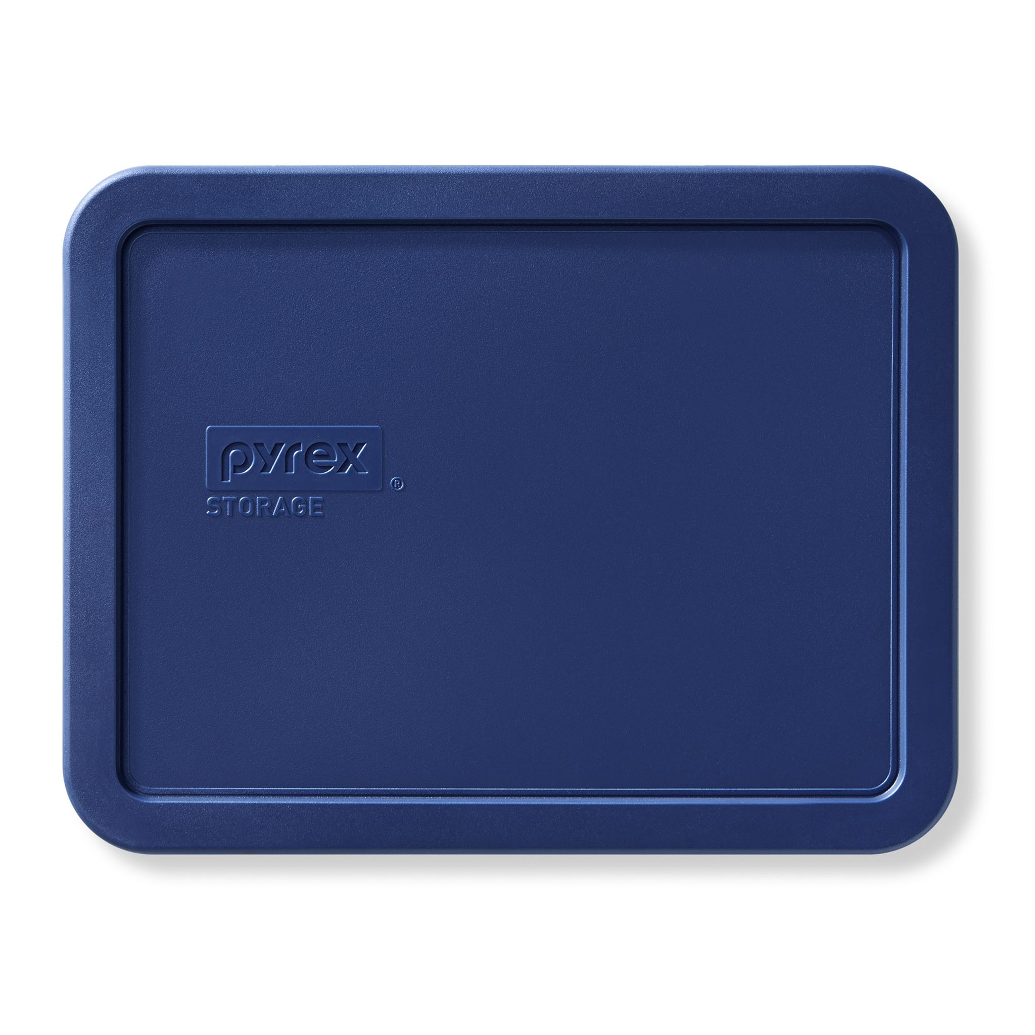 Blue Lid for 6-cup Rectangular Food Storage Container