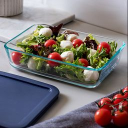 Easy Grab Bake 'N Store Dish with Salad Inside