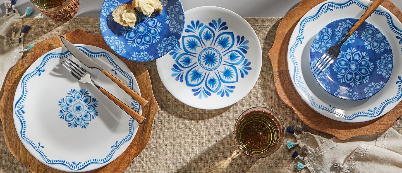 Lisbon Terrace dinnerware set