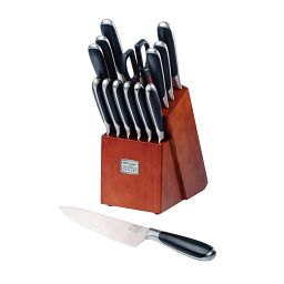 Belden® 15-pc Block Set with Chef Knife on table