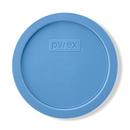 3-cup Round Plastic Lid, Cornflower Blue
