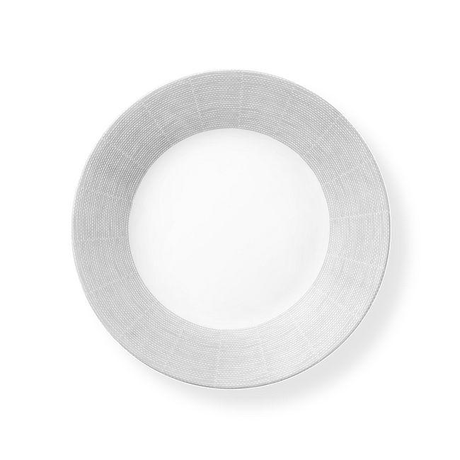 "Woven Lines 11"" Dinner Plate"
