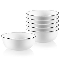 City Ribbon 16-ounce Small Soup Bowl, 6-pk