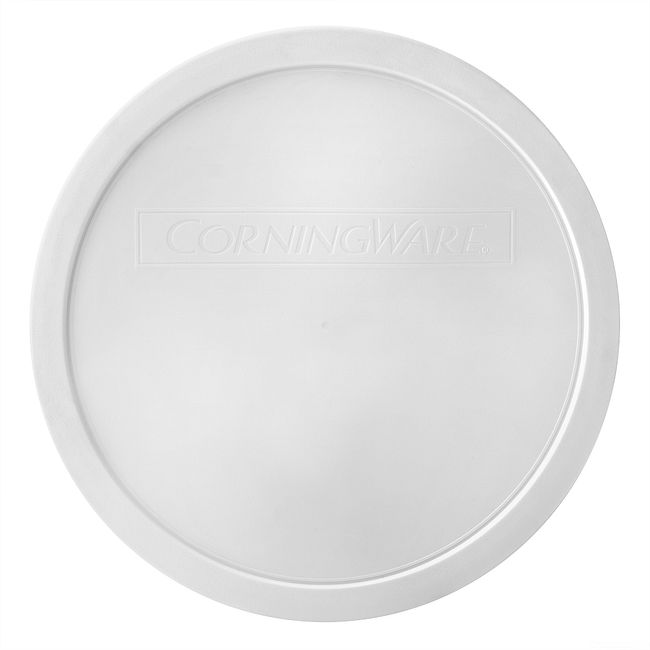French White Plastic Lid for 2.5-quart Baking Dish