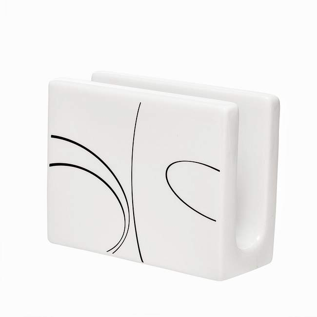 Napkin Holder Coordinates w/ Corelle Simple Lines