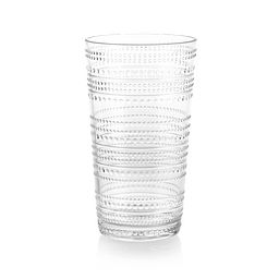 Clear Beaded 21.3-ounce Acrylic Tall Tumbler