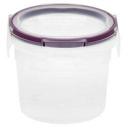 Total Solution™ Plastic Food Storage 2.01 Cup  Round with lid on