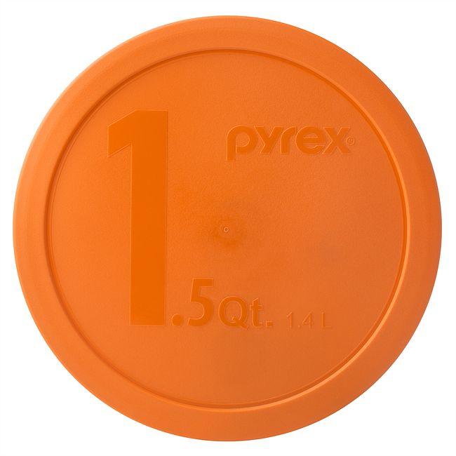 Orange Plastic Lid for 1.5-quart Mixing Bowl