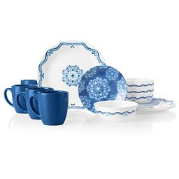 Libson Terrace 16-piece Dinnerware Set, Service for 4