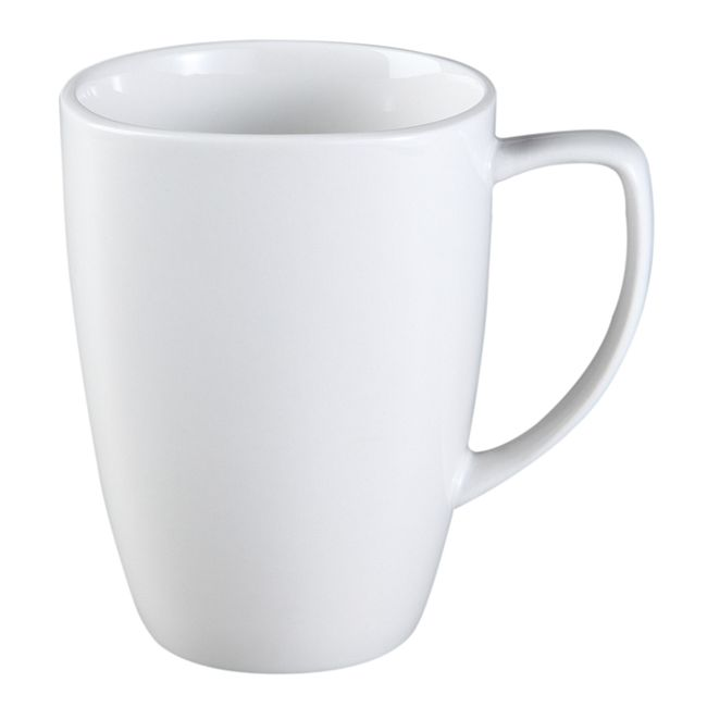 Pure White 12-ounce Mug
