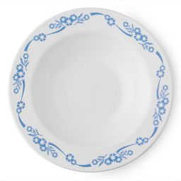 Livingware™ Cornflower 28-oz Wide-Rimmed Bowl Top View