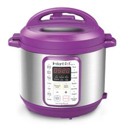 Instant Pot® Viva™ 6-quart Multi-Use Pressure Cooker,Eggplant