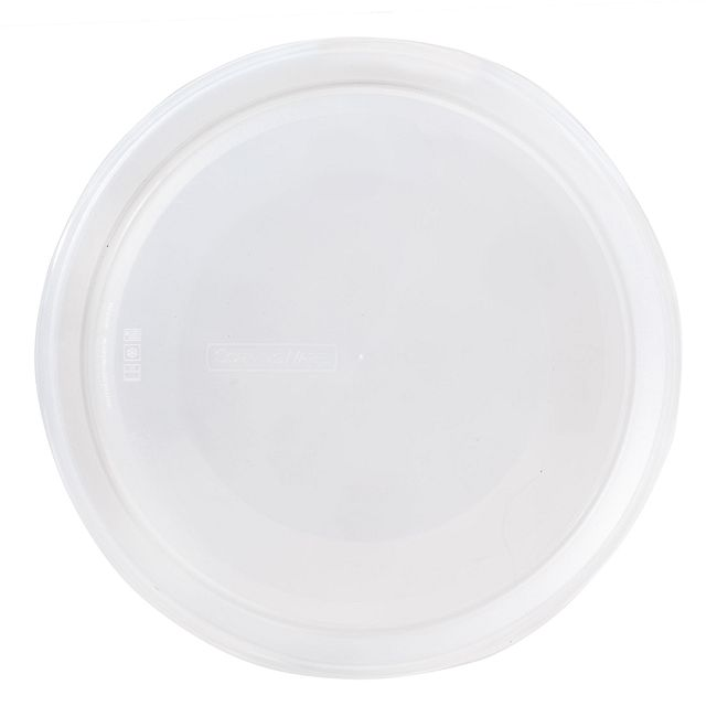 French White Clear Plastic Lid for 2.5-quart Baking Dish