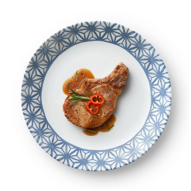 "Amalfi Azul 10.25"" Dinner Plate"