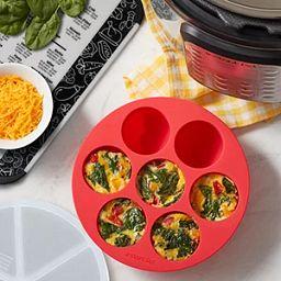 Instant Pot Easy Bake egg bites tray with omelettes inside