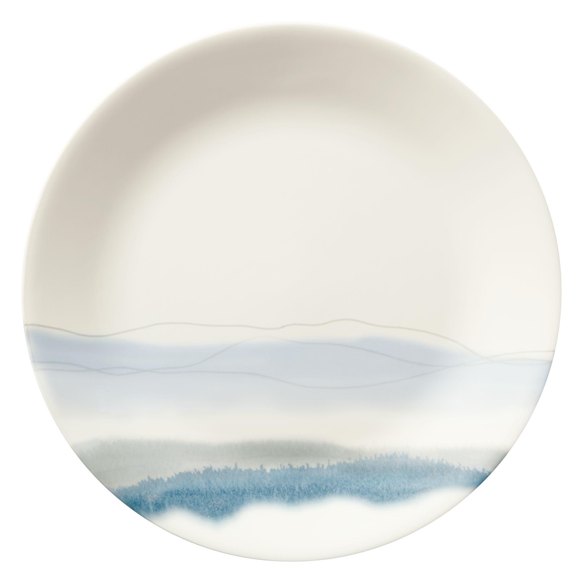 "Corelle Blue Adirondack 10.25"" Plate"