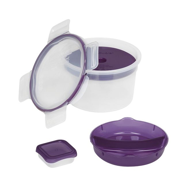 Total Solution To-Go 6-pc Purple Salad Kit