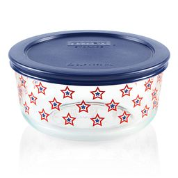 Simply Store 4 cup Stars Storage Dish with Blue Lid