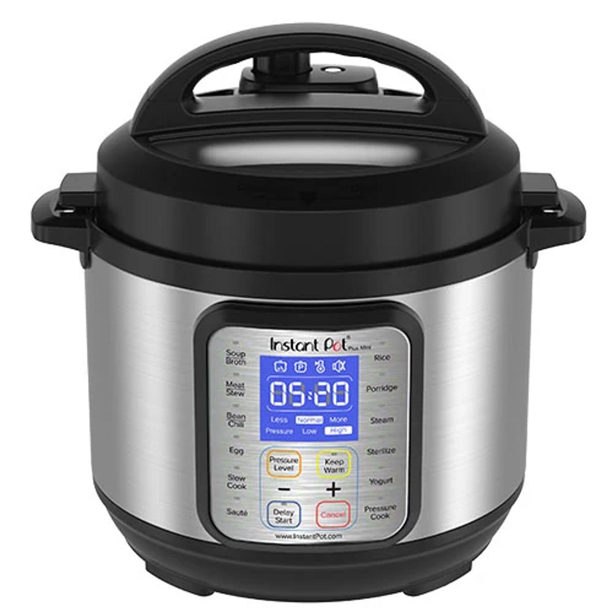 Instant Pot Duo Plus 3-quart Mini Multi-Use Pressure Cooker