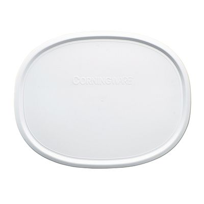 French White Plastic Lid for 1.5-quart Baking Dish