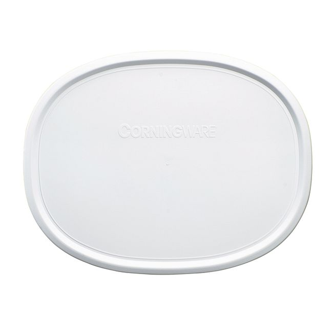 French White Plastic Lid for 1.5-quart Baking Dish