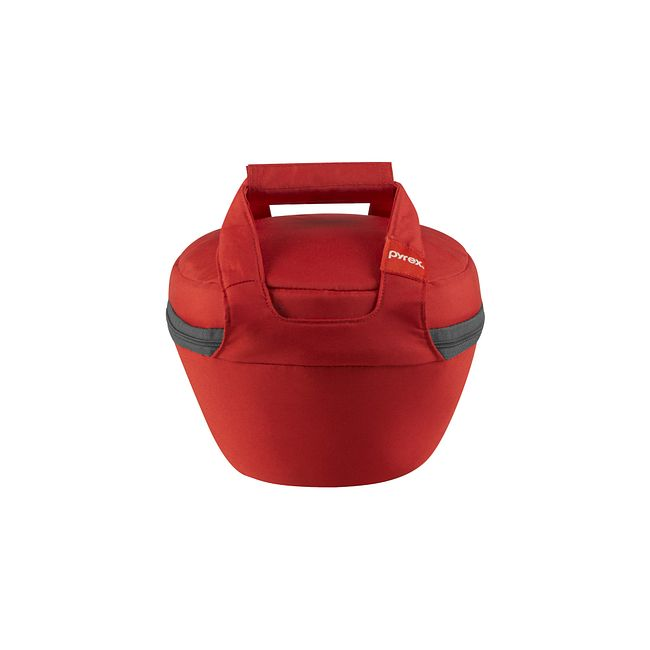 Portables Red Bag For 2 5 Quart Mixing Bowl Pyrex