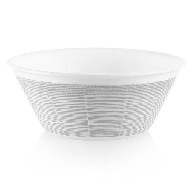 Woven Lines 21.5-ounce Medium Soup Bowl
