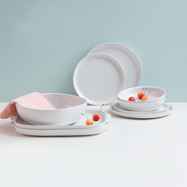 "Powder 15"" Serving Platter"