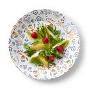 """Signature Prairie Garden Red 8.5"""" Salad Plate"""