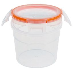 Total Solution™ Plastic Food Storage 2.01 Cup  Round