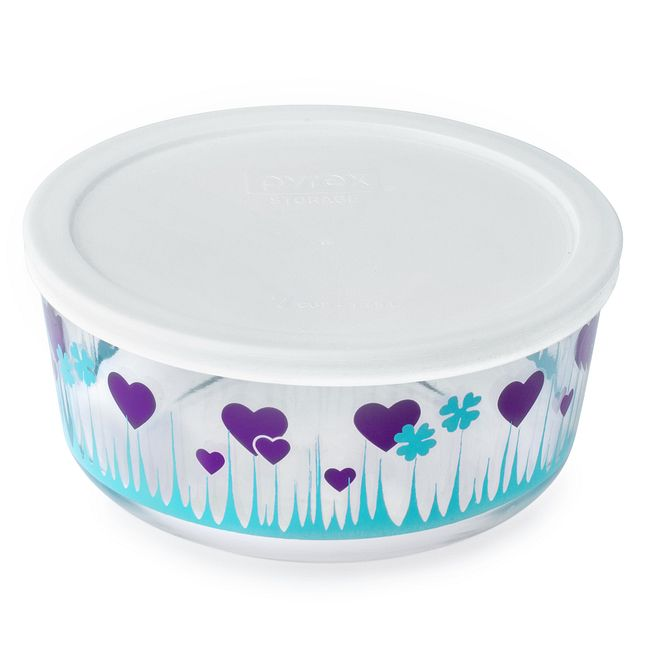 Simply Store 7 Cup Midnight Garden Storage Dish w/ Lid