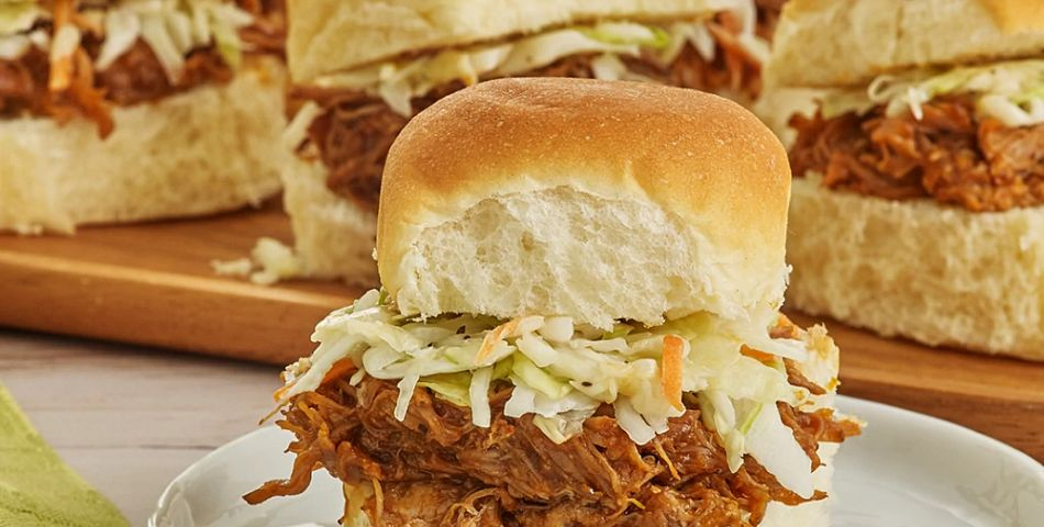 Southern Barbecue Pulled Pork Sliders