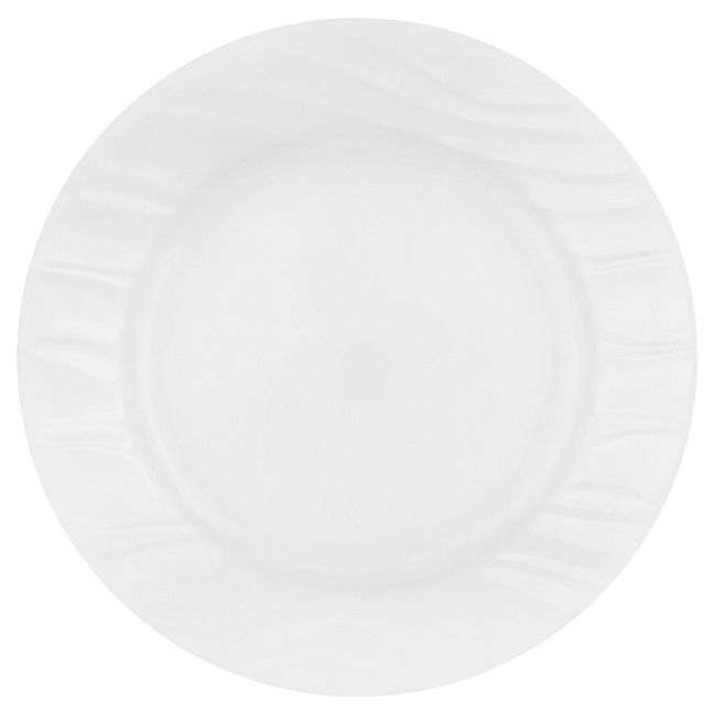 Boutique Swept Embossed 40-pc Dinnerware Set