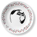 "Loving Cats Head Over Heels 6.75"" Appetizer Plate"
