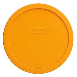 1.5-qt Round Plastic Lid, Lemon Yellow