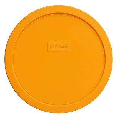 Pyrex 1.5-Qt Round Plastic Lid, Lemon Yellow