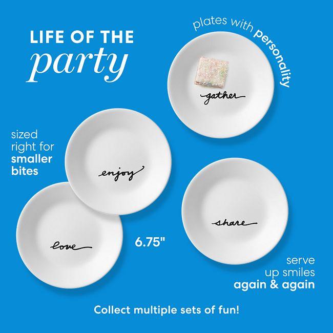 "Celebrations 6.75"" Appetizer Plates, 8-pack"