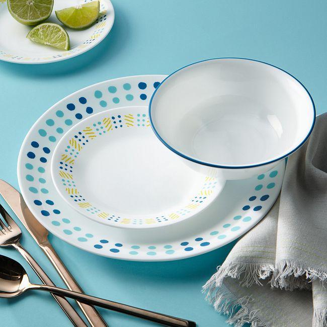 Key West 16-piece Dinnerware Set, Service for 4
